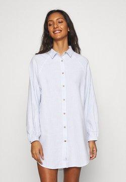 Cotton On Body - WARM SLEEP SHIRT  - Nachthemd - blue/white