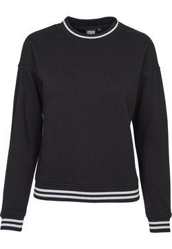 Urban Classics - LADIES COLLEGE CREW - Sweatshirt - black