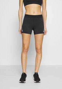 Nike Performance - AEROSWIFT SHORT - Medias - black/white