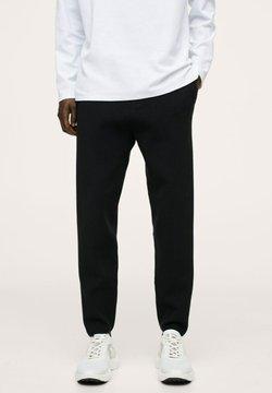 Mango - LUXUSJ - Jogginghose - zwart