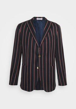 Boglioli - Blazer jacket - dark blue/red