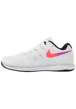 Nike Performance - AIR ZOOM VAPOR X - Kengät kaikille alustoille - summit white/white/black/electro green