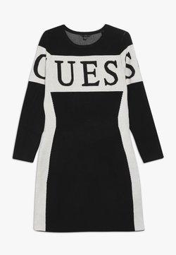 Guess - JUNIOR DRESS - Strickkleid - jet black