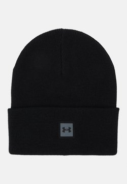 Under Armour - UNISEX TRUCKSTOP BEANIE - Bonnet - black