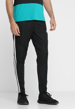 adidas Performance - TIRO AEROREADY CLIMACOOL FOOTBALL PANTS - Jogginghose - black/white