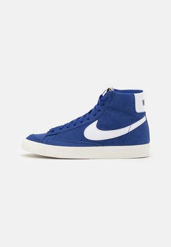 Nike Sportswear - BLAZER MID '77 UNISEX - High-top trainers - deep royal blue/white/black
