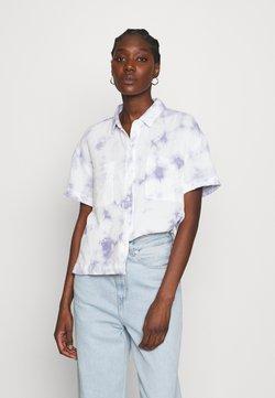 Madewell - SAFARI SHIRT - Skjorta - tye die blue
