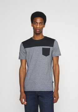 Pier One - T-Shirt print - black/grey
