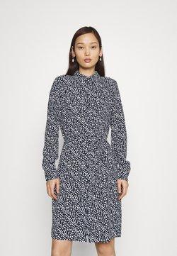 Vero Moda - VMSAGA COLLAR DRESS  - Vestido camisero - navy blazer/donna