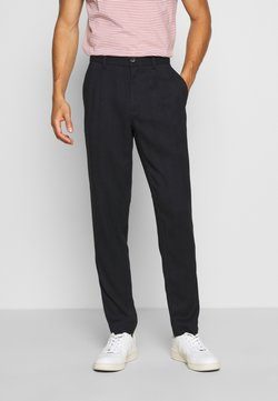 Lindbergh - PLEATED PANTS - Stoffhose - navy