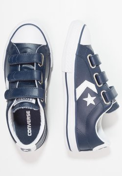 Converse - STAR PLAYER JUNIOR - Sneakers laag - navy/white