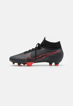 Nike Performance - MERCURIAL 7 PRO FG - Fußballschuh Nocken - black/dark smoke grey