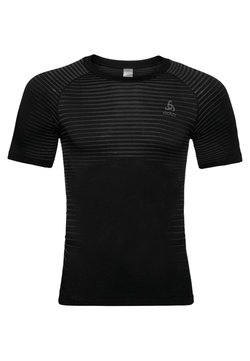 ODLO - MIT INTEGRIERTEN BELÜFTUNGSZONEN - T-Shirt print - black