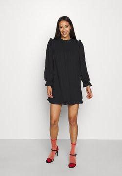 ONLY - ONLLAVIN SHORT DRESS  - Vardagsklänning - black