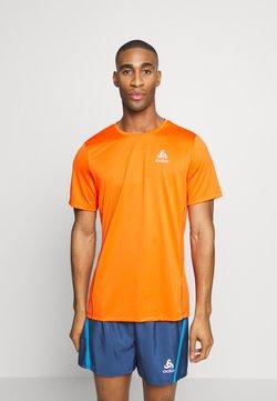 ODLO - ELEMENT LIGHT - Camiseta básica - mandarin red