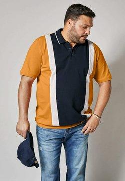 Men Plus by HAPPYsize - Poloshirt - marineblau,senfgelb,weiß
