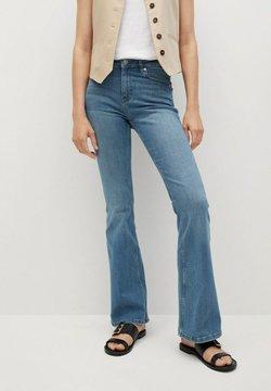 Mango - Jeans a zampa - medium blue