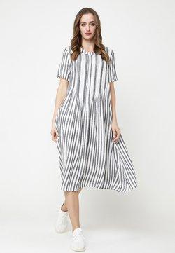 Madam-T - DARI - Freizeitkleid - schwarz, weiß