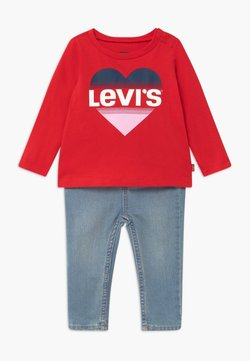 Levi's® - SET - Slim fit jeans - red