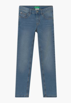 Benetton - BASIC BOY  - Slim fit jeans - blue denim