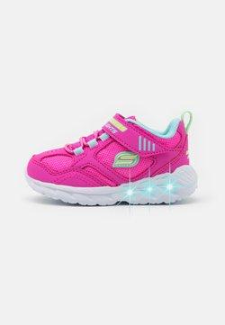 Skechers - MAGNA LIGHTS - Sneaker low - pink/multicolor/hot pink