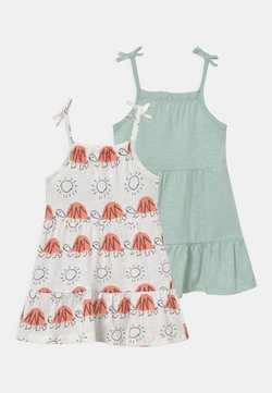 Marks & Spencer London - BABY STRAPPY 2 PACK  - Jerseykleid - ivory