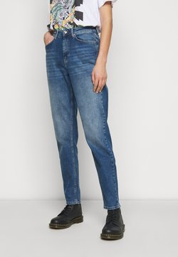ONLY Tall - ONLVENEDA LIFE MOM - Jeans Relaxed Fit - dark blue denim