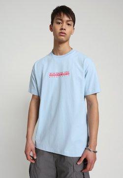 Napapijri - BEATNIK - T-shirt print - light blue dream