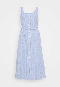 Tommy Hilfiger - REEVE DRESS - Freizeitkleid - white/blue