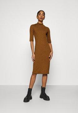 ONLY - ONLJOANNA DRESS  - Etui-jurk - rubber