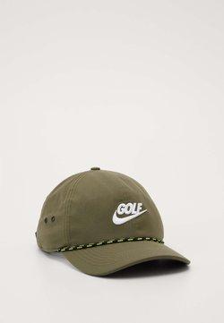 Nike Golf - AROBILL ROPE UNISEX - Cap - medium olive/anthracite/white