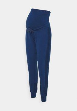 MAMALICIOUS - MLBELMA PANTS - Træningsbukser - estate blue