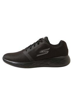 Skechers Performance - GO RUN 600 - REFINE - Laufschuh Neutral - black textile/trim