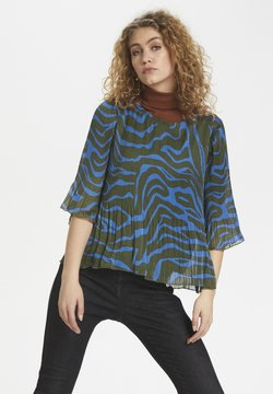 Denim Hunter - DHZITHA  - Bluse - blue zebra print