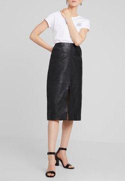 Ibana - MARIE - A-linjekjol - black