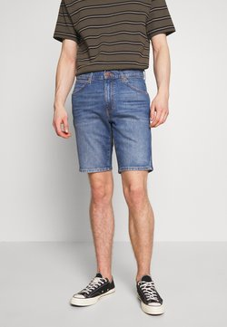 Wrangler - TEXAS FIT - Jeansshort - worn blue