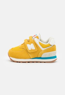 New Balance - IV574HB2 UNISEX - Matalavartiset tennarit - yellow