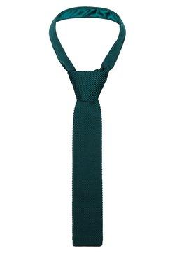 Twisted Tailor - JAGGER TIE - Krawat - bottle green