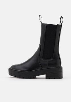 ONLY SHOES - ONLBRANDY BOOT  - Platform-saappaat - black