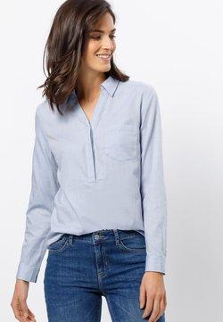 zero - Bluse - soft blue melange