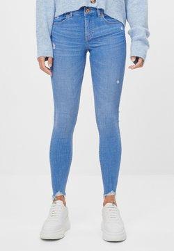 Bershka - Jeans Skinny Fit - light blue