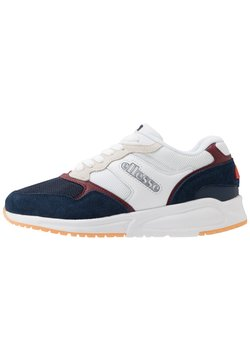 Ellesse - NYC84 - Sneaker low - white/dark blue/burgundy