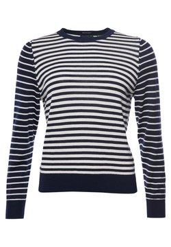 Superdry - Strickpullover - navy breton stripe