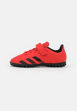 adidas Performance - PREDATOR FREAK TF J UNISEX - Botas de fútbol multitacos - red/core black
