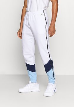 Lacoste Sport - PANT TAPERED - Jogginghose - white