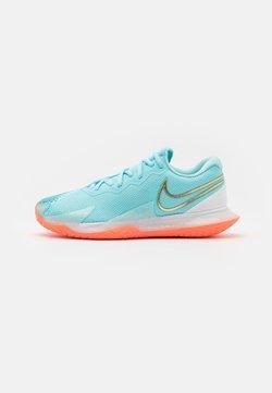 Nike Performance - AIR ZOOM VAPOR CAGE 4 - All court tennisskor - copa/metallic gold/bright mango/white