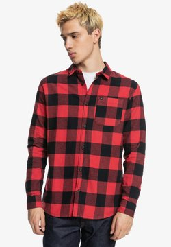 Quiksilver - MOTHERFLY - Hemd - american red motherfly