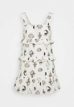 Never Fully Dressed Petite - TIERED SHELL MINI DRESS - Vestido informal - white