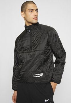 American Eagle - QUILTED POPOVER - Übergangsjacke - black