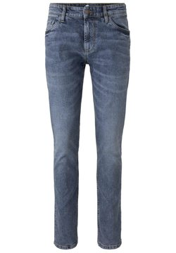 TOM TAILOR - JEANSHOSEN JOSH REGULAR SLIM JEANS - Jeans Slim Fit - super stone blue denim